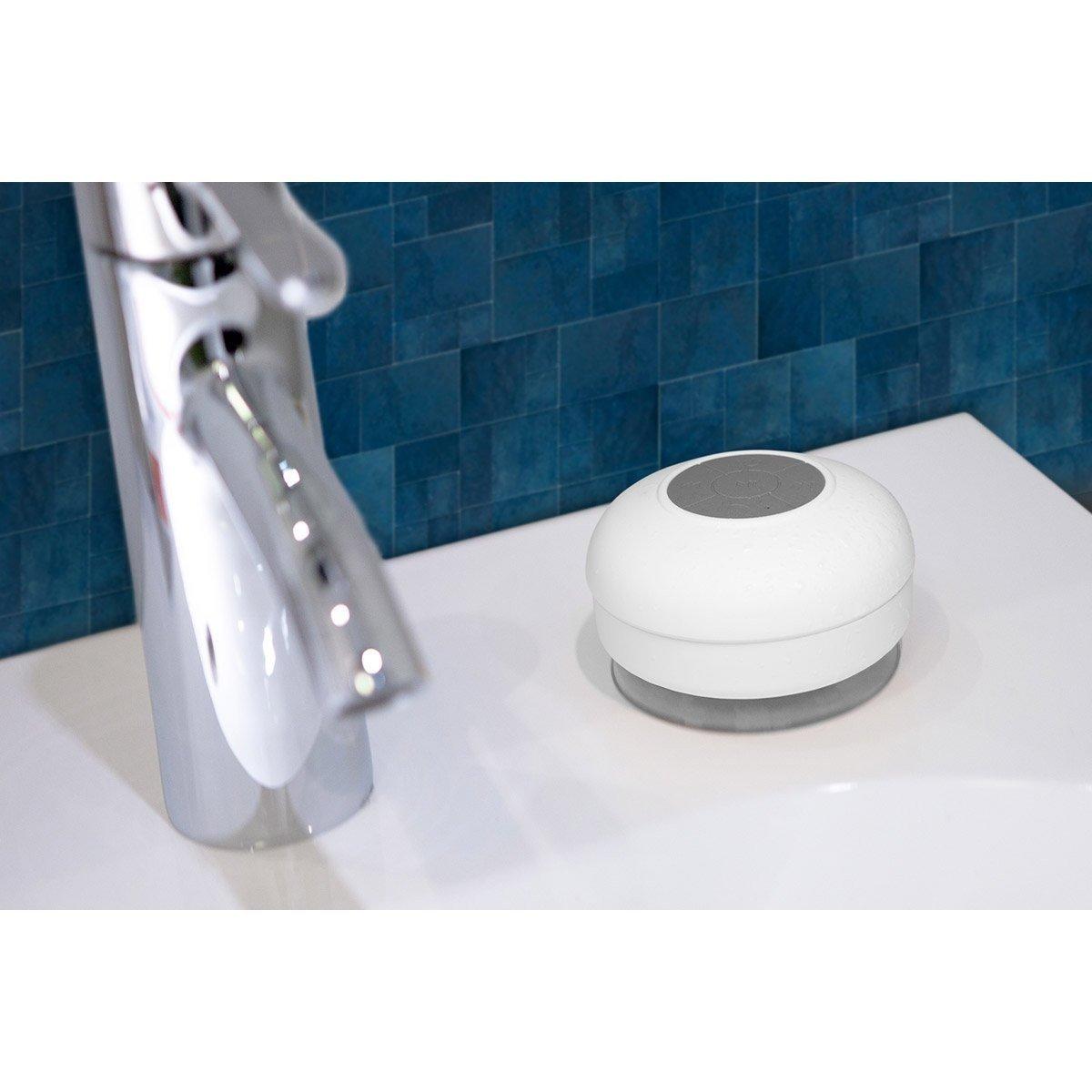 Waterdichte Bluetooth Badkamer Speaker Wit Mobilesupplies Nl