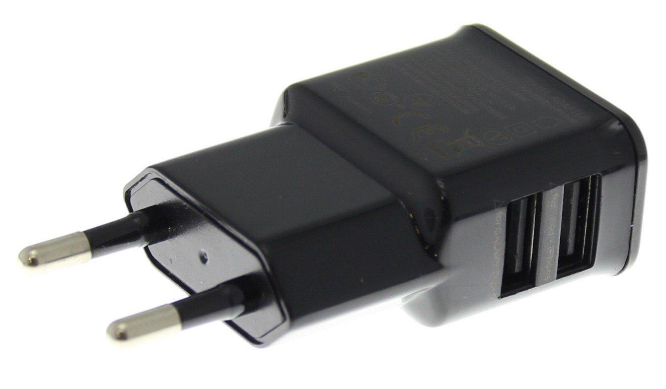 2 poorts USB lader adapter universeel zwart