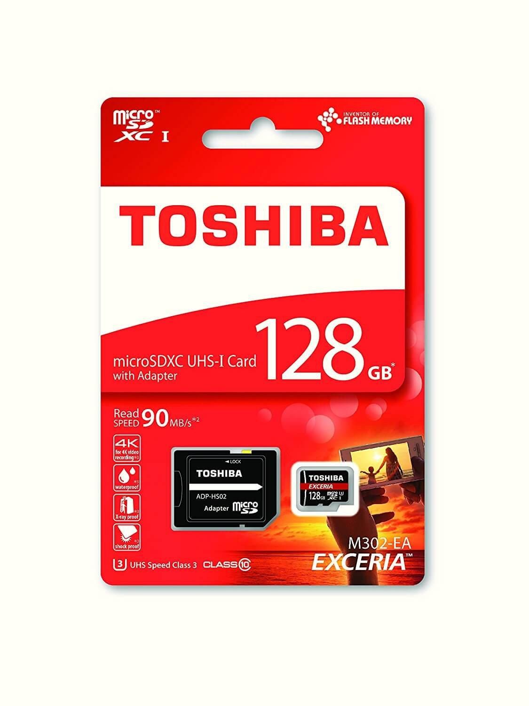 Toshiba MicroSDXC kaart 128GB C10/UHS-1