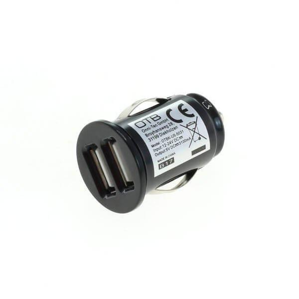 Autolader 2x USB universeel - 3,1A AutoID