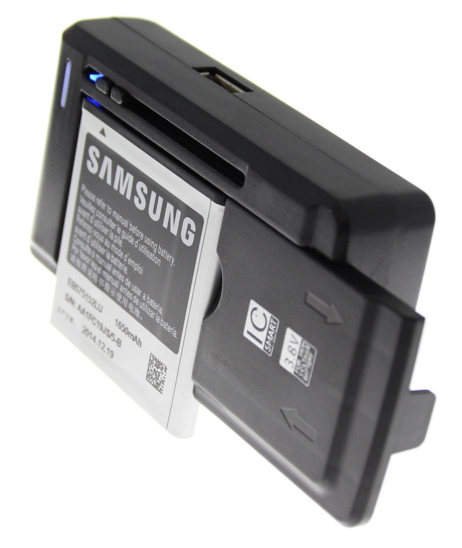 Universele accu oplader met USB poort