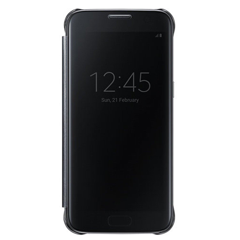 Clear View cover Samsung Galaxy S7 EF-ZG930CBE zwart