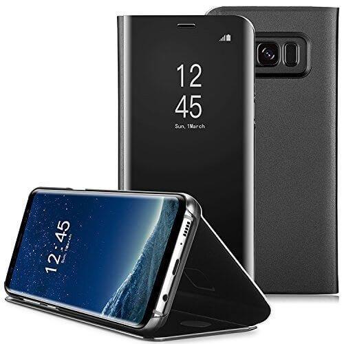 Clear View cover Samsung Galaxy S8 zwart