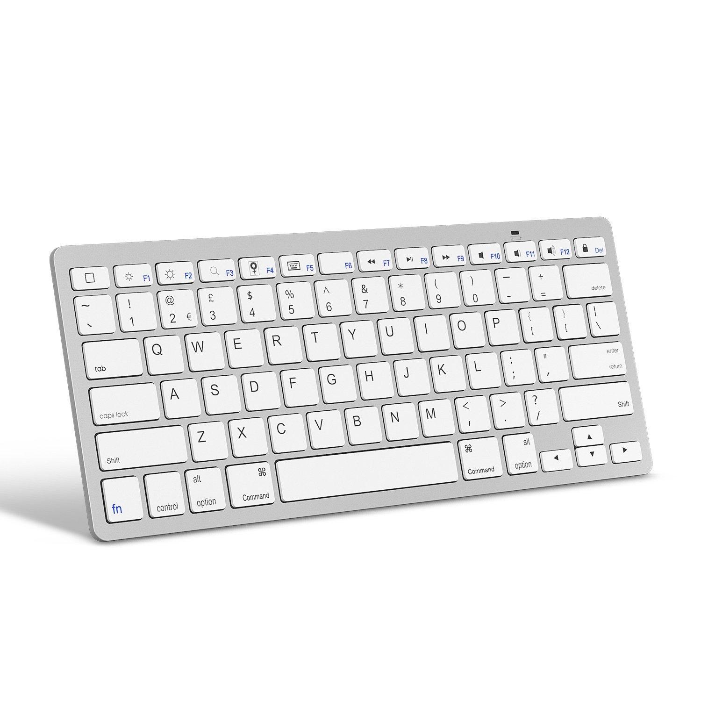 Draadloos bluetooth toetsenbord geschikt voor iMac - wit