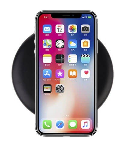 Draadloze fast charge oplader voor de Apple iPhone X