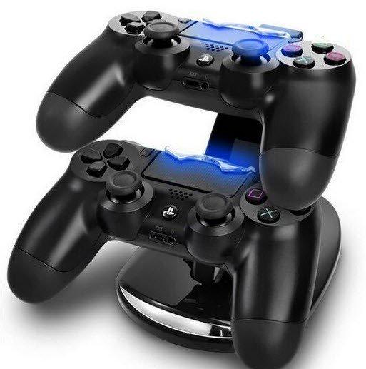 Dual snellader standaard voor Playstation 4 controller