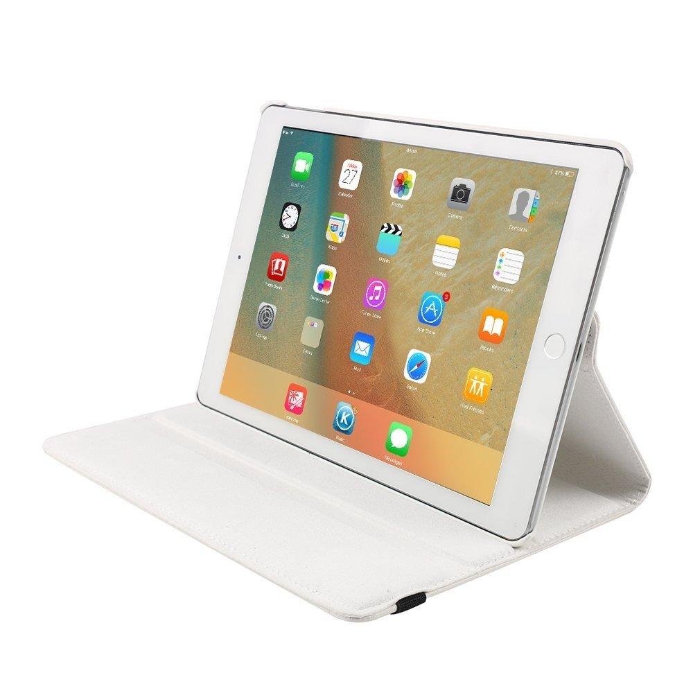 Hoes draaibaar iPad 9.7 2017 en iPad 9.7 2018 wit