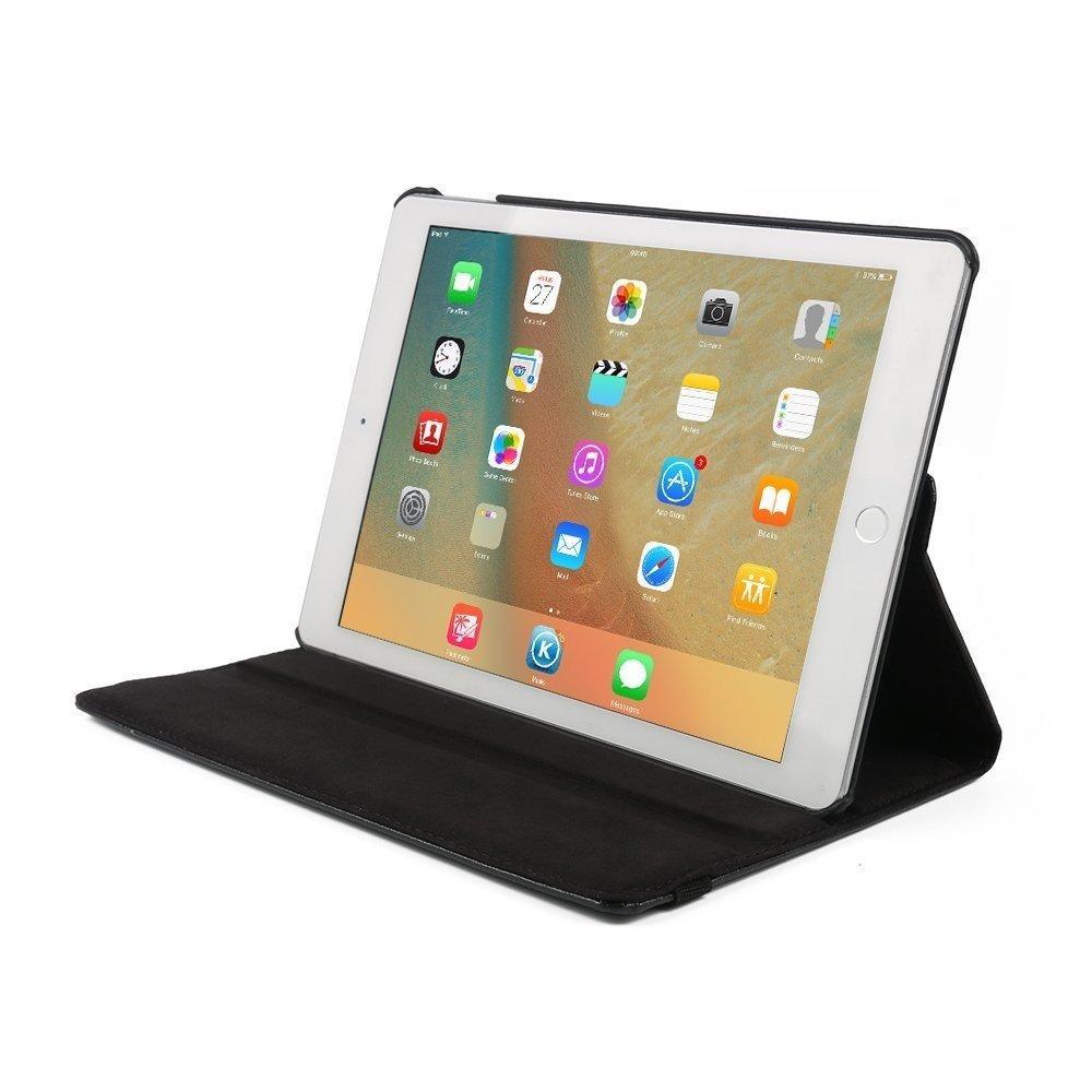Hoes draaibaar iPad 9.7 2017 en iPad 9.7 2018 zwart