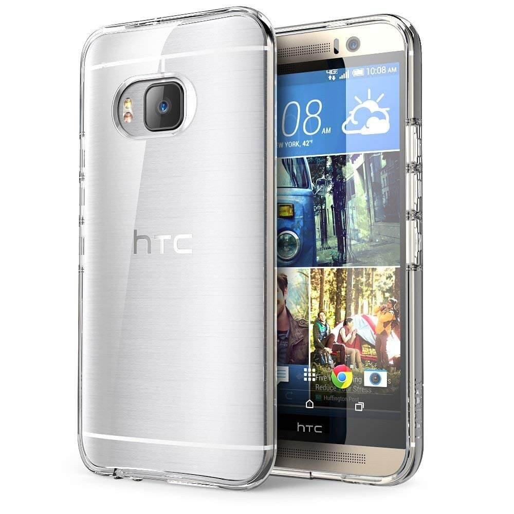 Hoesje HTC One M9 Flexi bumper - 0,3mm