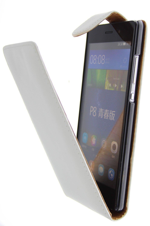Huawei P8 Lite flip hoesje wit kopen   MobileSupplies.nl