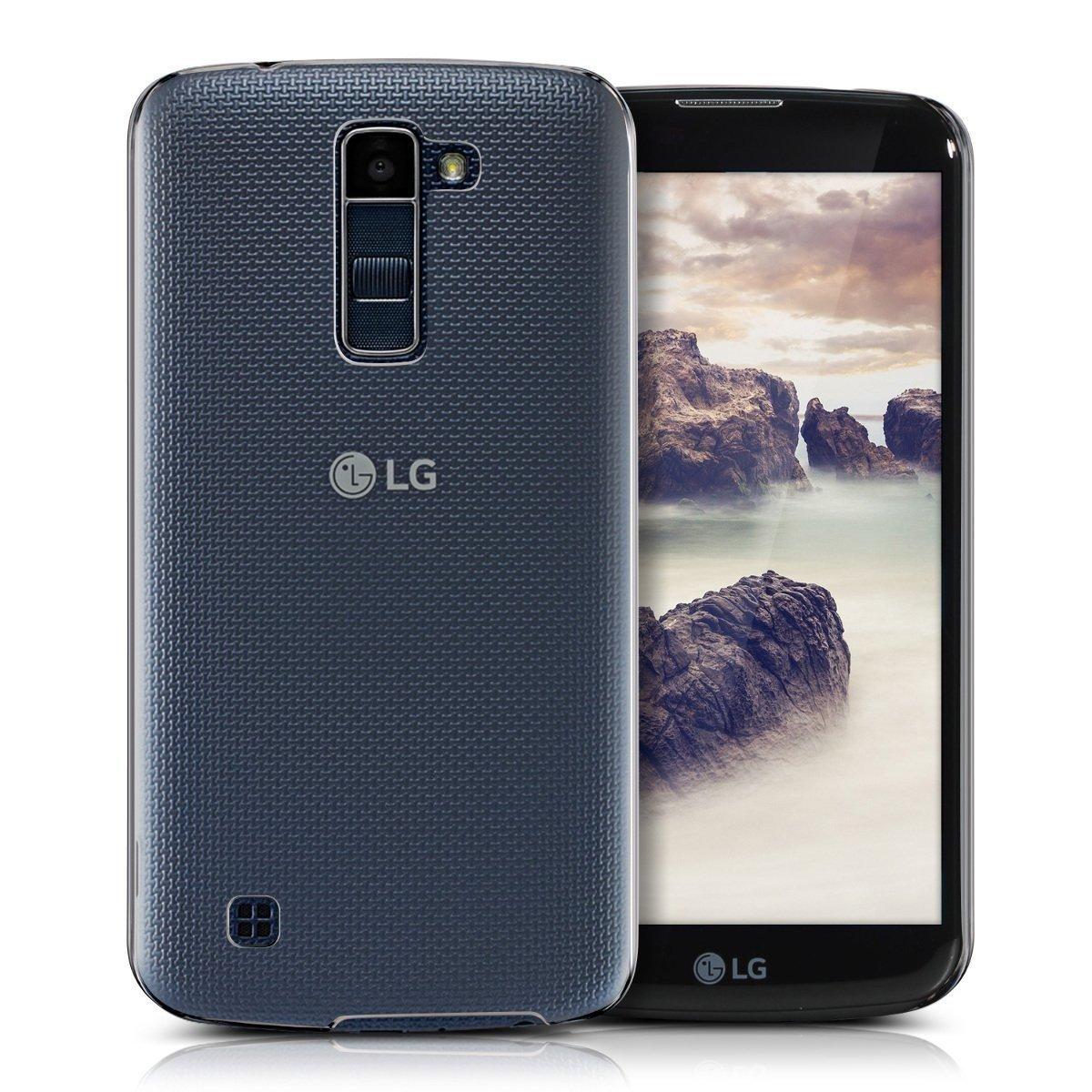 Hoesje LG K10 hard case transparant