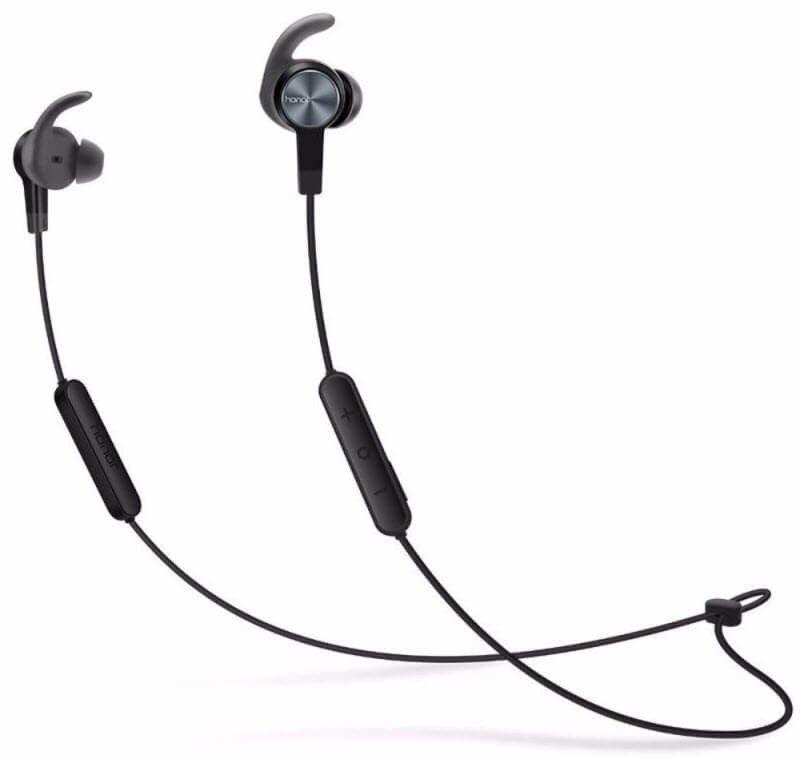 Huawei bluetooth sport headset zwart - AM61