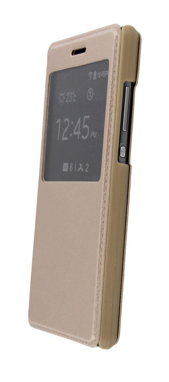 Huawei p8 lite view cover goud online kopen for Huawei p8 te koop