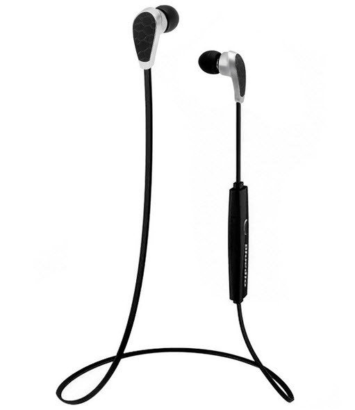 In-ear sport headset draadloos - bluetooth zwart