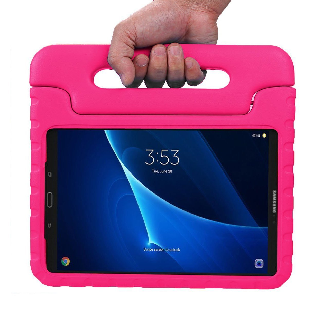 Kinder Tablet Roze.Kinder Hoesje Samsung Galaxy Tab A 10 1 2019 Roze