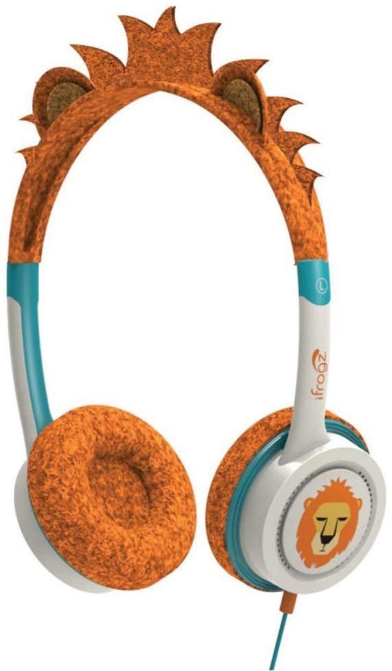 Kinder koptelefoon iFrogz Little Rockerz - Lion - oranje