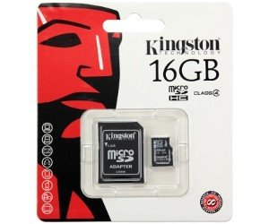 Kingston Micro SDHC Card 16GB C4