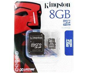 Kingston Micro SDHC Card 8GB C4