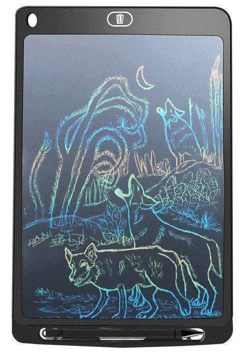 LCD teken en schrijf tablet / digitale memoblok - 10 Inch - multicolor