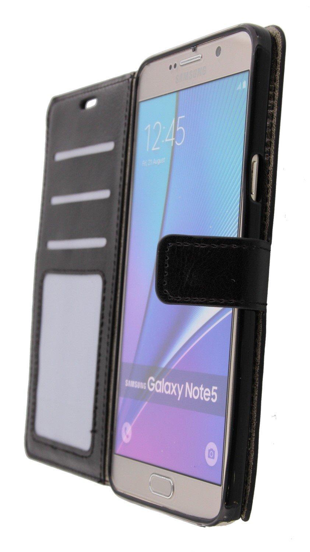 Flip Cas De Luxe Pour Samsung Galaxy Note 5 - Poudre Rose EIySYCS