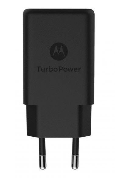 Motorola Snellader Turbo Power USB QC 3.0 Fast Charging SPN5976A / SC-52 zwart