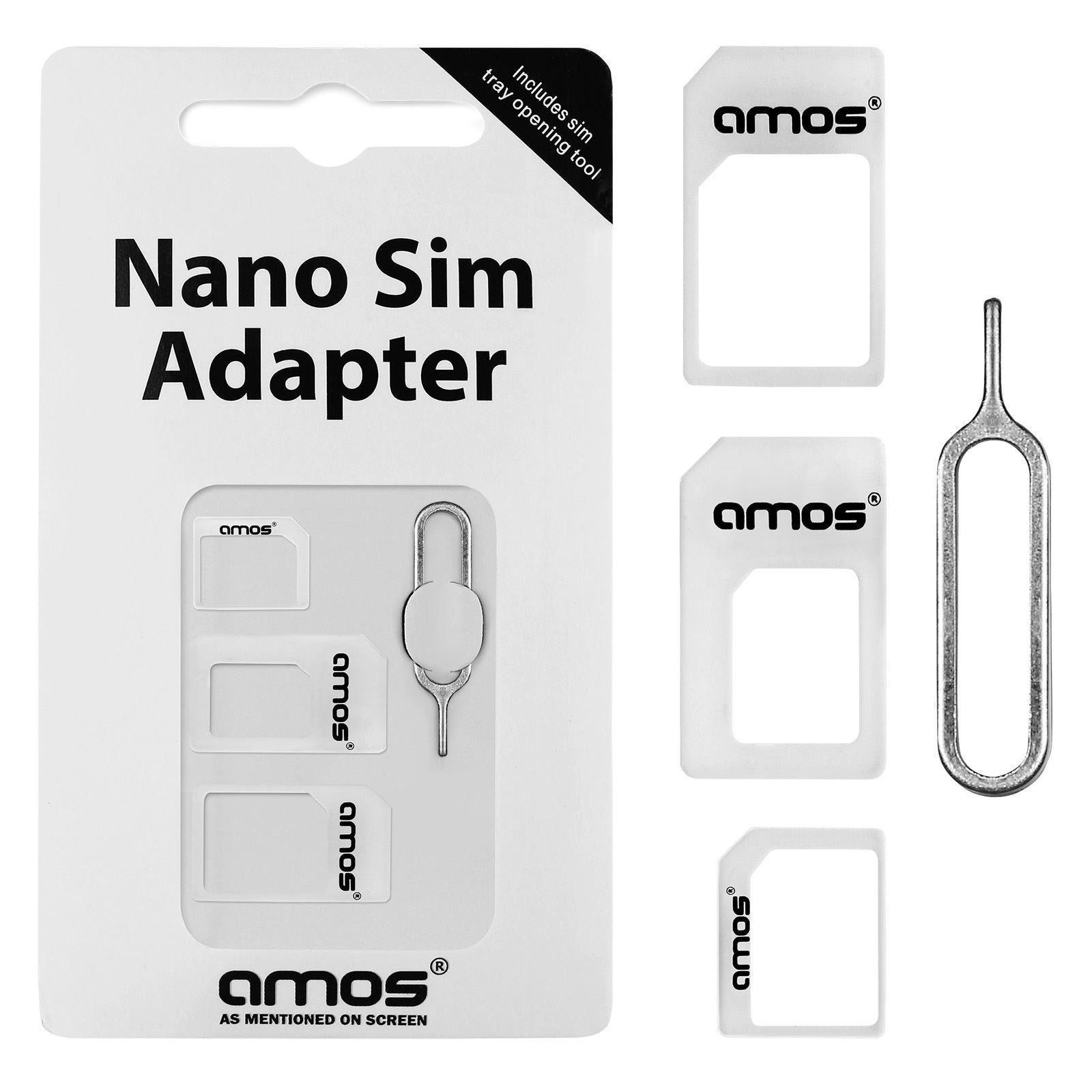 Nano sim kaart adapter set - 3 stuks