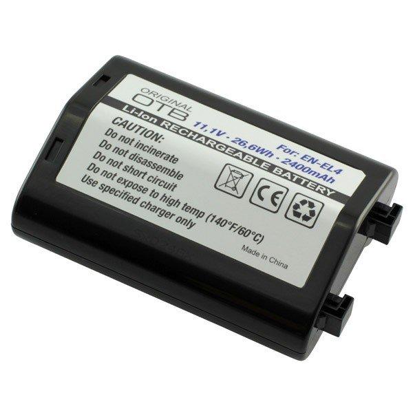 Accu Nikon EN-EL4 Li-ion 2400 mAh