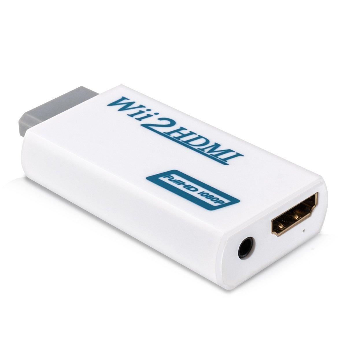 Nintendo Wii naar HDMI adapter HD 1080p