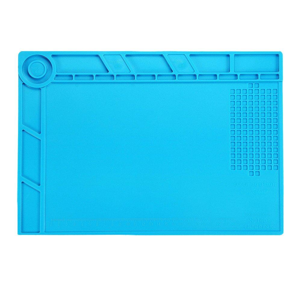 Reparatie siliconen mat - onderlegger met vakverdeling