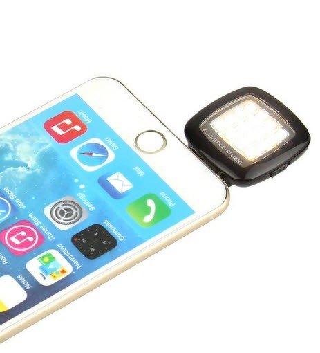 Selfie flitser LED voor smartphone en tablet