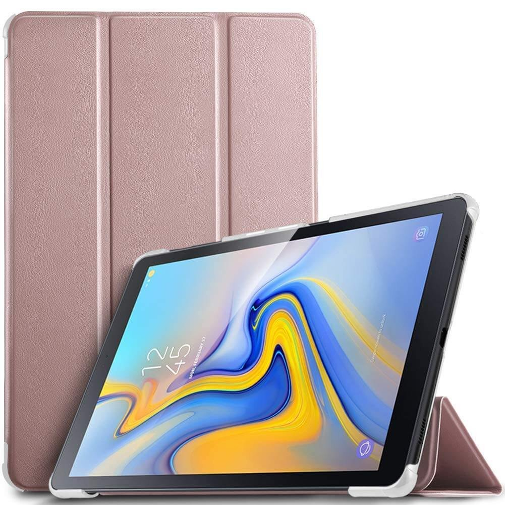 Smart cover met hard case Samsung Galaxy Tab A 10.5 rose goud