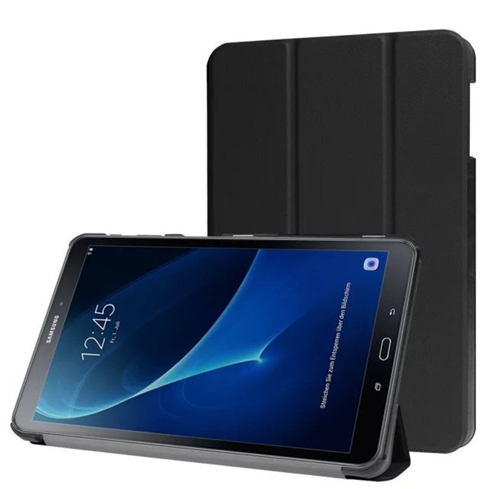 Smart cover met hard case Samsung Galaxy Tab A 2016 (10.1) zwart
