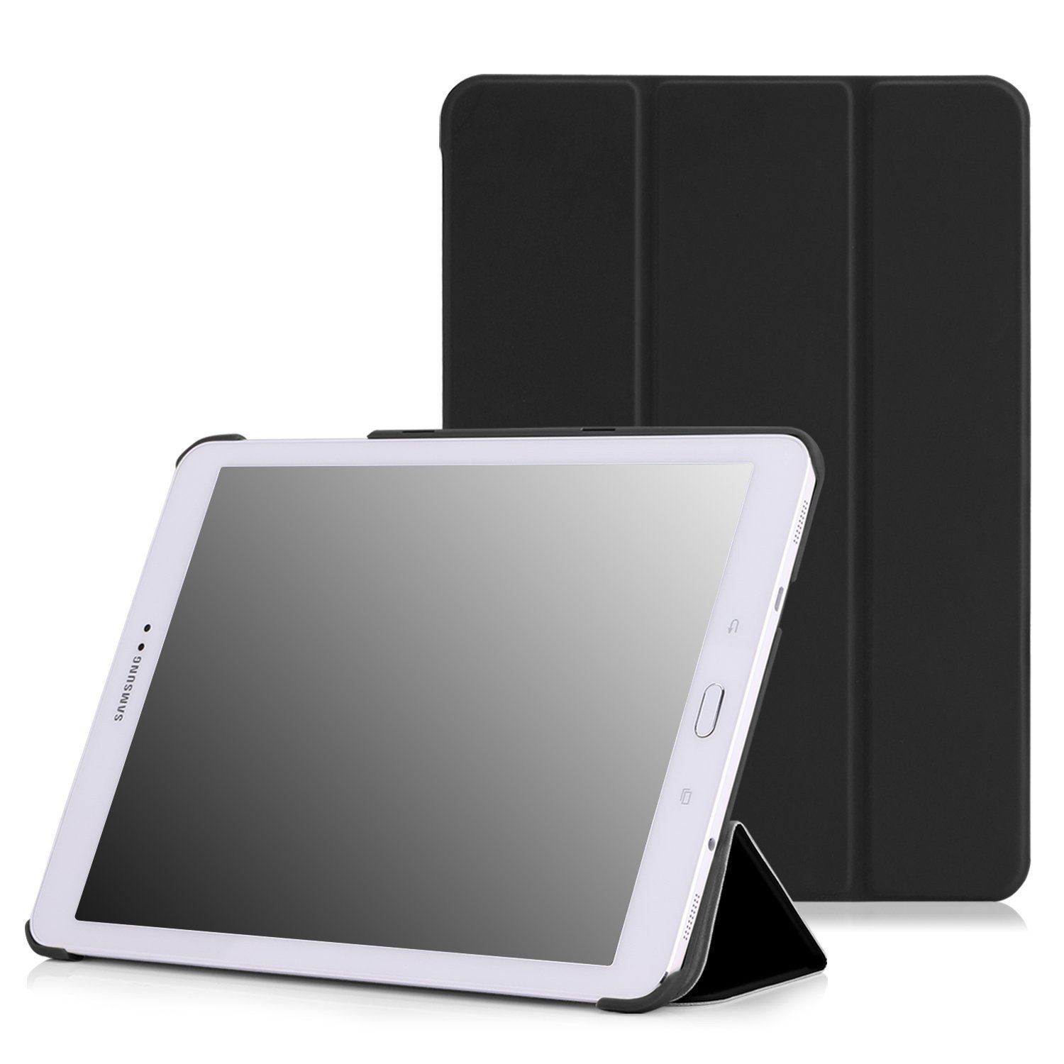 Smart cover met hard case Samsung Galaxy Tab S3 9.7 zwart