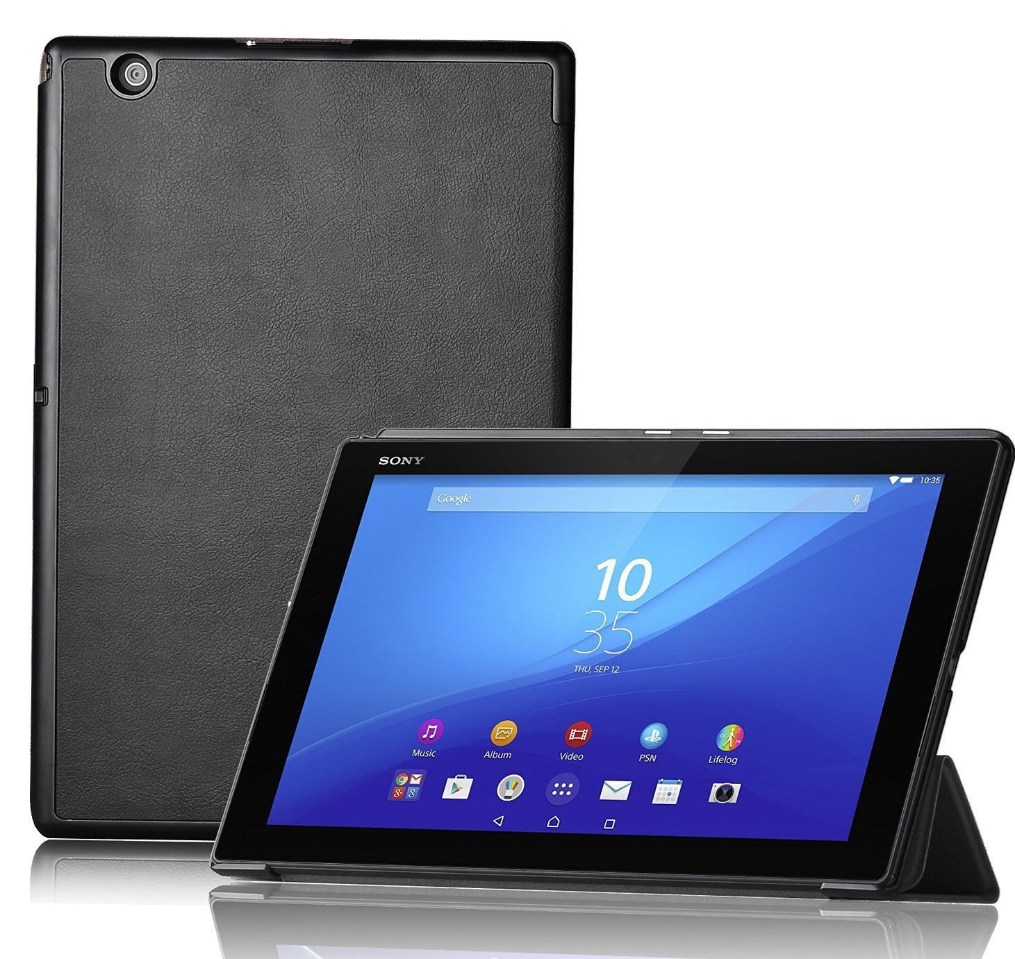 Smart cover Sony Xperia Z4 Tablet zwart