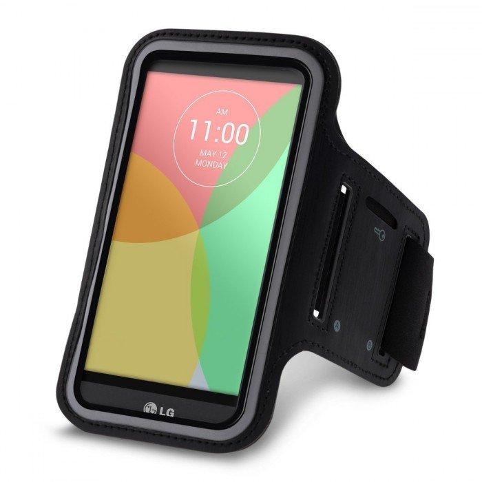 Sport armband LG K10 zwart