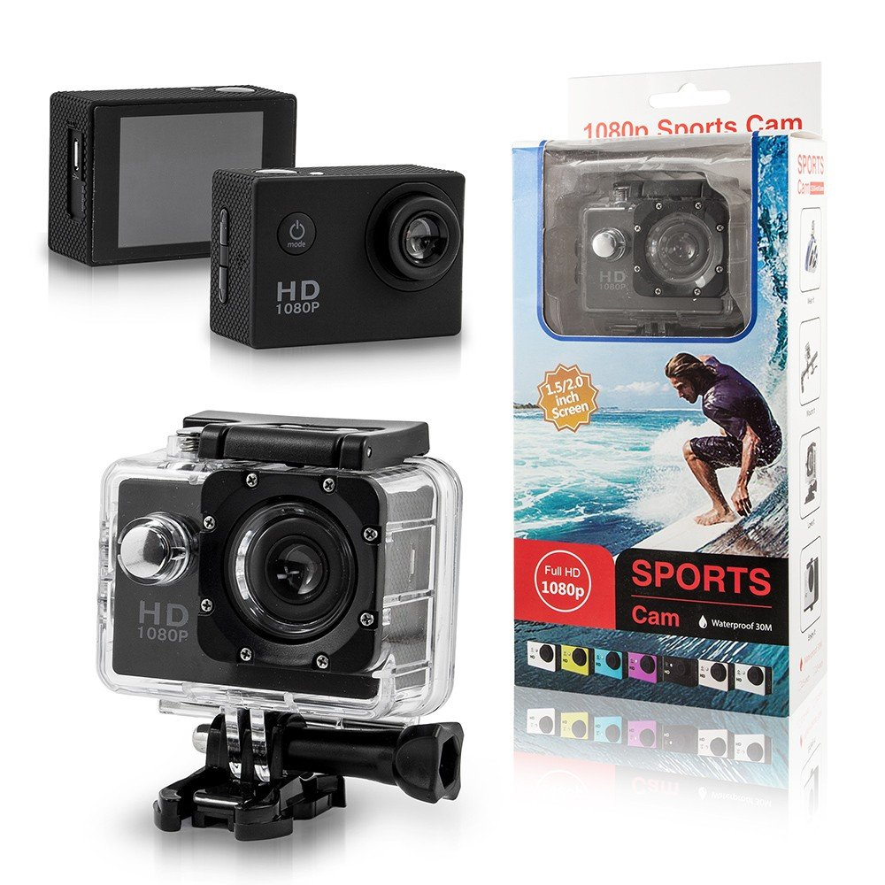 Waterdichte outdoor sport HD camera