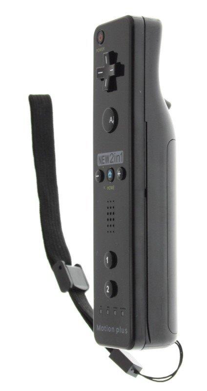 Wii en Wii U compatibel remote Plus controller zwart