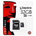 Kingston Micro SDHC Card 32GB C10