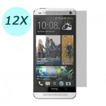 12x Screenprotector set HTC One M8 ultra clear