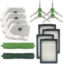 14 in 1 borstel + filter + stofzuigerzak accessoires set voor iRobot Roomba E5 / i7