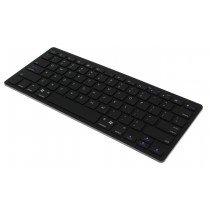 Draadloos bluetooth toetsenbord zwart