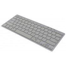 Draadloos bluetooth toetsenbord wit