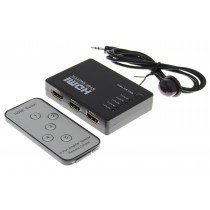 5 Poorts HDMI Switch - Full HD 1080P met afstandbediening