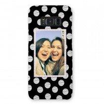 Telefoonhoesje met foto rondom bedrukt - Samsung Galaxy S8 - Voorbeeld 1