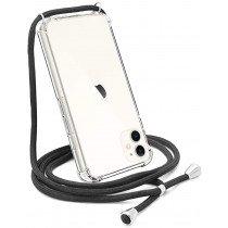 Apple iPhone 11 Pro Max crossbody hoesje met draag koord