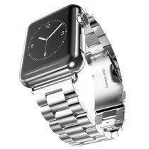 38mm horloge bandje RVS voor Apple Watch - zilver