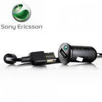 Sony Ericsson USB autolader met Micro USB kabel AN-401