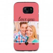 Telefoonhoesje met foto voor de Galaxy S7 - Tough case - Voorbeeld 1