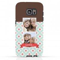 Telefoonhoesje met foto voor de Galaxy S7 Edge - Tough case - Voorbeeld 1