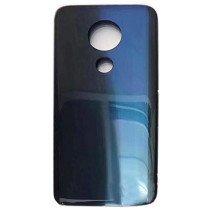 Back cover - achterkant Motorola Moto G7 Plus blauw